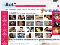AOL Homepage Ideas by the FreeIdeasGuy.com